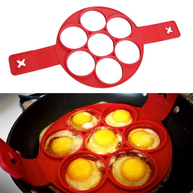 Nonstick Pancake and Egg Ring Maker