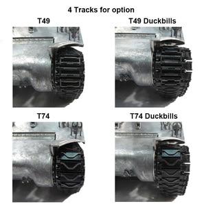 Image 5 - 마토 금속 탱크 모델 실행 준비 100% 금속 M36B1 RC 탱크 파괴자 적외선 리코일 버전