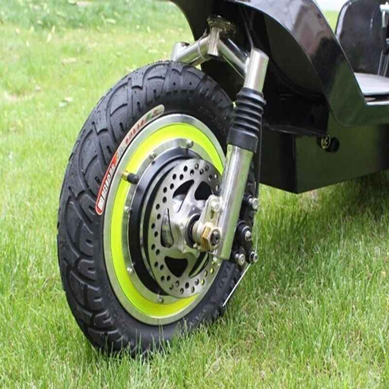NEW Electric Bicycle E-Bike Hub Motor Brushless Non Gear 12Inch 24V 36V 48V 350W