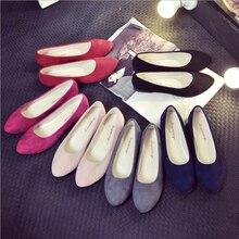Fashion Women Flats Shoes 2019 Faux Suede Loafers Candy Color Shoes Woman Fur Flats Warm Ladies Shoes Black Boat Shoes faux fur decorated flats