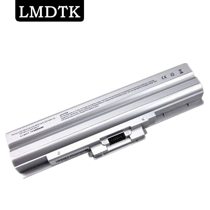 LMDTK NEW 6cells Laptop battery for SONY VAIO SR VGN FW SERIES VGP-BPS13 VGP-BPL13 VGP-BPS13A/B VGP-BPS13B/B Free shipping цена