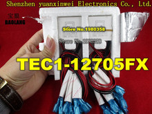1pcs/lot TEC1 12705FX Thermoelectric Cooler Peltier 40*40*4mm TEC1 12705FX thermoelectric module