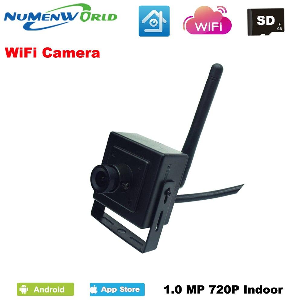 Mini  Wireless IP cam 720P SD HD P2P 802.11b/g/n wifi network  IP Camera Micro TF Card Surveillance Camera IOS&Android APP фотоловушка bushnell trophy cam hd wireless 119598