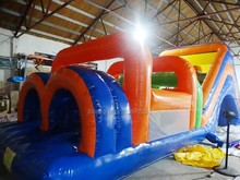 2017 factory directly inflatable obstacle course for kids and adults/inflatable sports game sale