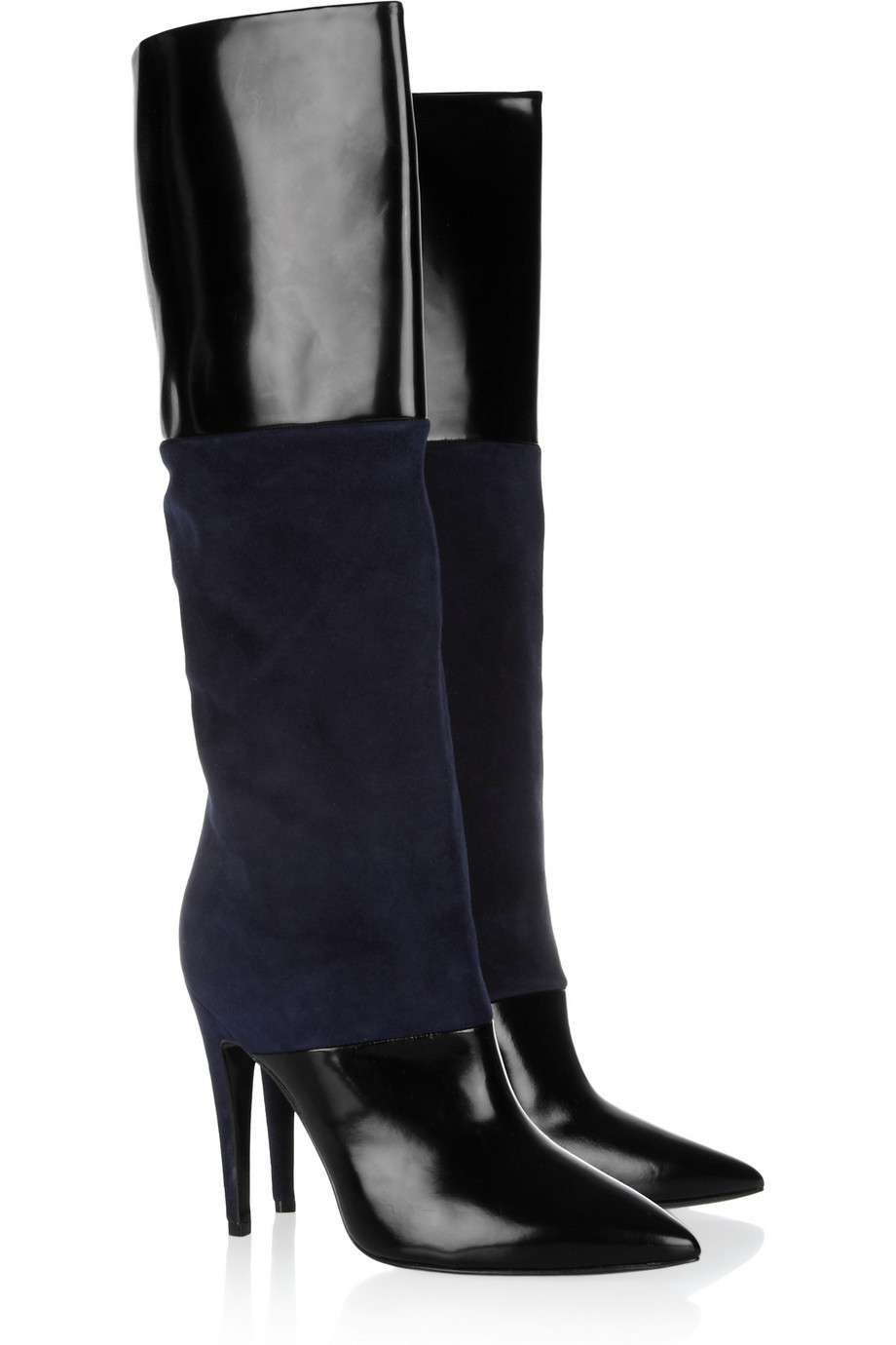 popular black patent leather boots buy cheap black patent