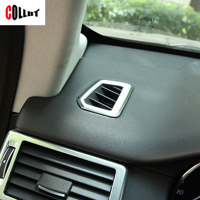 Car Styling Car Dashboard Front Air Ac Outlet Vent Cover Trim Frame