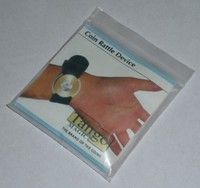 Coin Rattle Device trick, close up magic trick , magician, mentalism,classic toys