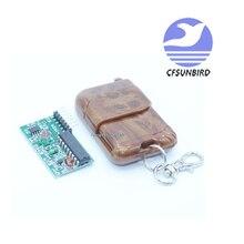 20pcs=10set IC 2262/2272 4 CH 315Mhz Key Wireless Remote Control Kits Receiver module For Arduino