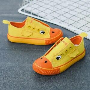 Image 3 - Unisex dziecięce brezentowe buty 2019 letnie dzieci nowe modne dziewczyny trampki chłopcy sportowe buty oddychające buty dla małego dziecka zwierzęta śliczne