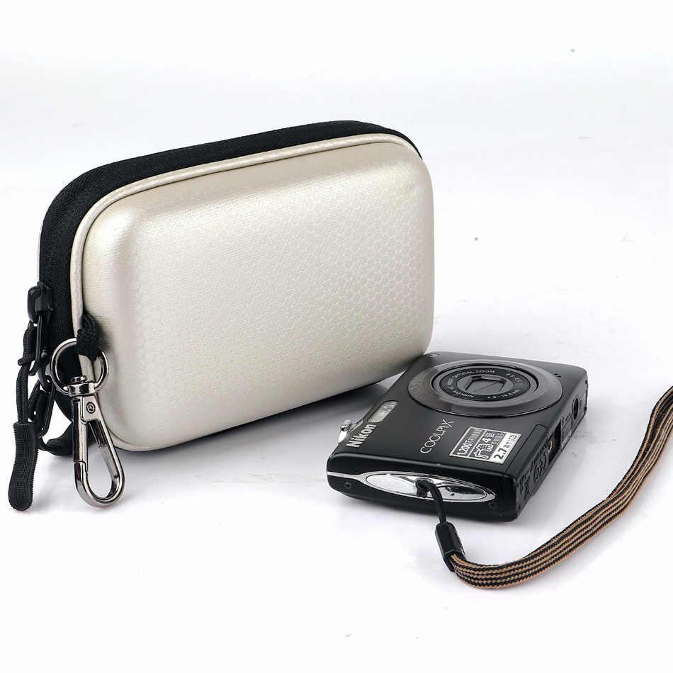 Камера сумка жесткий чехол на пояс для Nikon CoolPix S9900S S8600 S8200 S8000 S7000 S6900 AW110S AW100 A300 A100 A10 L32 L31
