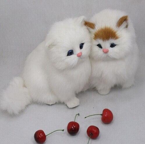 miniature jouet pour chat/artisanat fait main beau chat/chat doux