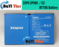 ZOPO C2 Battery 100% New High Quality 2000mah BT78S ZOPO ZP980 Battery For ZP980+ C3 phone +  - In Stock
