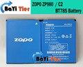 Zopo c2 batería 100% nuevo de alta calidad 2000 mah bt78s zopo zp980 batería para teléfono zp980 + c3 +-en stock