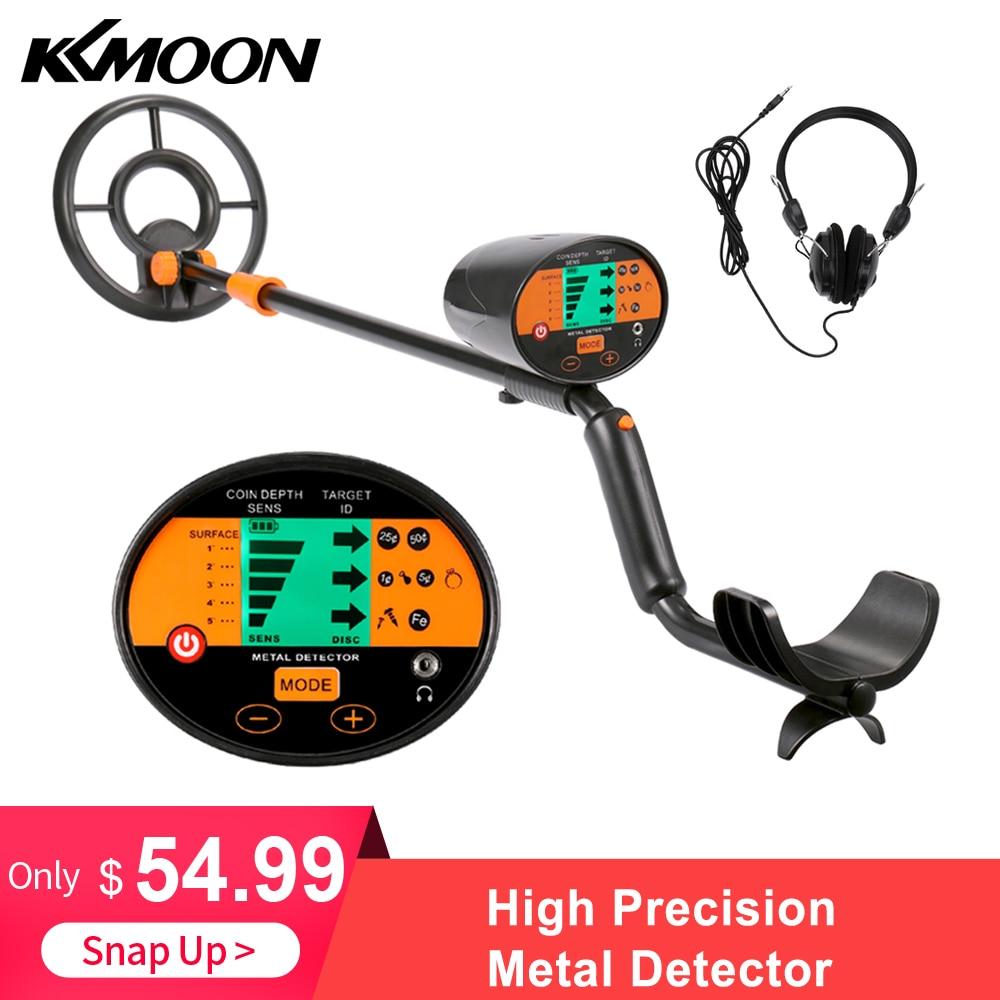 KKMOON Metal Detector Underground High Precision Professional Gold Detector Metal Detector With Accurate Detecting VS MD
