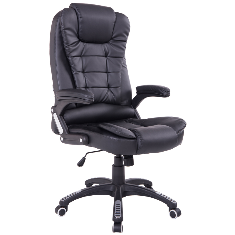Genuine Leather Office Computer Chair Home Leather Boss Chair PU Swivel Lift Gaming Chair Silla Oficina With Spring Cushion