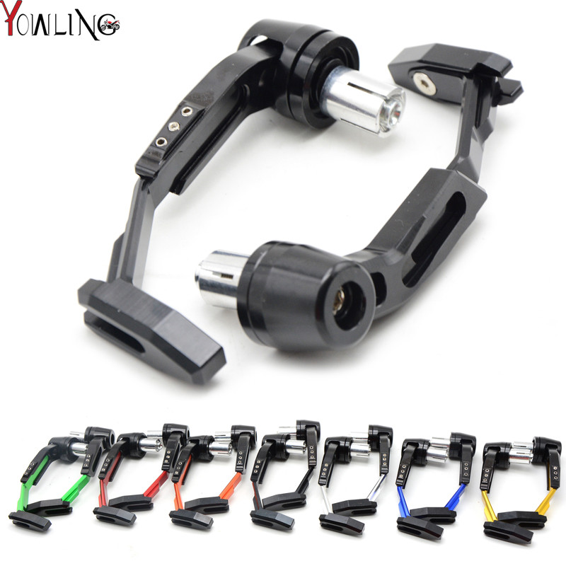 Aluminum Universal 7/8 22mm Motorcycle Proguard System Brake Clutch Levers Protect Guard for Honda Cbr 600 F2 F3 F4 F4i 900 Cbr аксессуар катушка marsmd sniper для f2 f4