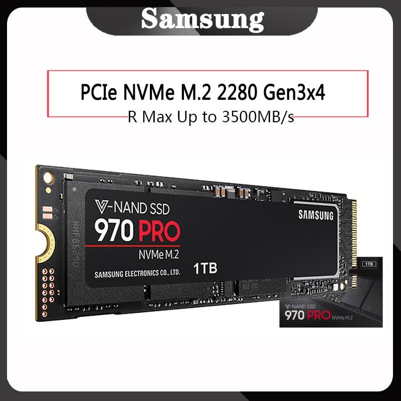 Samsung HDD 512GB 1TB 970 RPO NVMe M.2 Internal SSD Solid State Hard Disk NVMe 970 RPO SSD PCIe 3.0 x4, NVMe 1.3