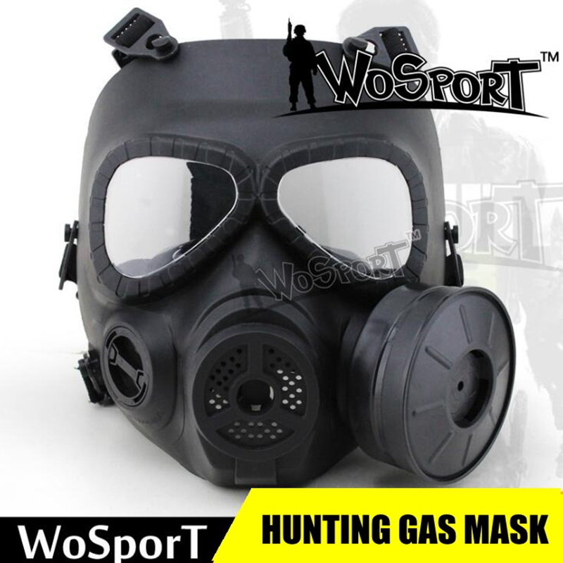 Paintball Mask Tactical Airsoft Game Full Face Protection Safety Mask Guard Skull Paintball Goggles Gear