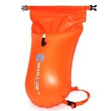 ПВХ плавучий буй безопасности поплавок воздуха Водонепроницаемый сухой мешок буксировки Купание и плавание надувная Флотационная сумка непромокаемый рюкзак