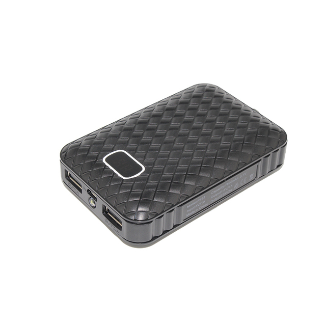 Banco móvil de la energía 7800 mah 2 usb cargador portátil de batería externo universal poderes de copia de seguridad para iphone6s 5S plus ipad mini