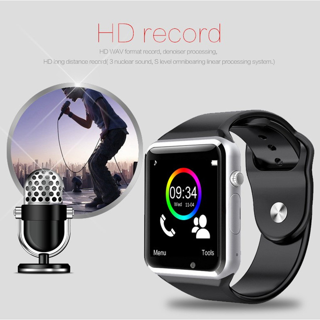 Smart Watch A1 for children men women android Bluetooth Smartwatch With camera Support call music Photography SIM TF card & DZ0 3