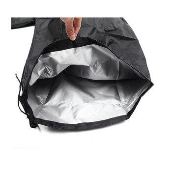 مقاوم للماء البوليستر مظلة للأماكن المفتوحة غطاء مانعة لتسرب الماء الباحة ناتئ المظلة غطاء للمطر اكسسوارات أدوات التخييم