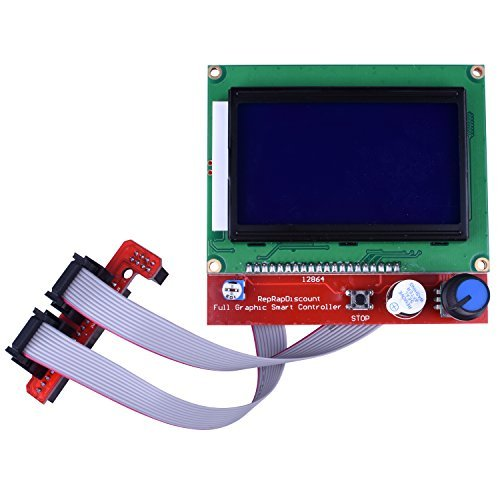 12864 Lcd Smart Parts Ramps 1.4 Controller Control Panel With 12864 Lcd Display Monitor Motherboard Blue Screen For 3d Printer