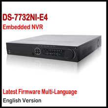 Original Hik NVR Network Video Recorder Onvif CCTV 32CH HD DS-7732NI-E4 6MP 4 SATA Para HDD Soporte de Actualización de Firmware