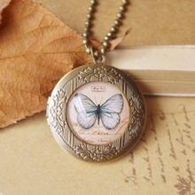 Длинное ожерелье ручной работы с flyleaf бабочками птицами Эйфелевой