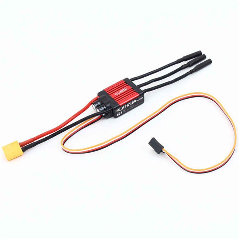 New ALZRC Devil 380 FAST RC Helicopter Parts Platinum 60A V4 ESC For RC Helicopter Quadcopter Accessories Accs
