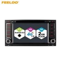 FEELDO 7 Android 6 0 64bit DDR3 2G 16G 4G LTE Quad Core Car DVD GPS