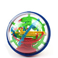 100 Steps 3D puzzle Ball Magic Intellect Ball with gift educational toys Puzzle Balance Logic Ability Game For Children    TO195