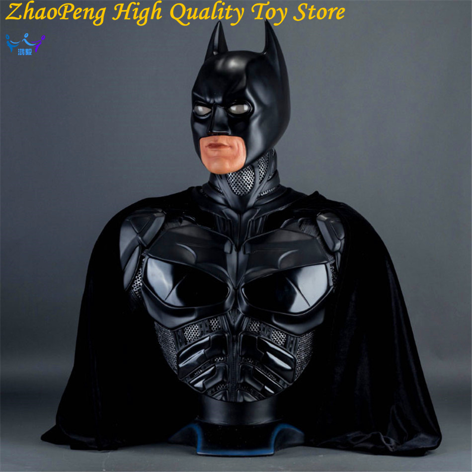 Batman v Superman Anime Batman Bust Dark Knight Statue Batman Forever Portrait Justice League Action Figures Collection FB193 justice league dark volume 5 paradise lost