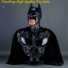 Batman v Superman Anime Batman Bust Dark Knight Statue Batman Forever Portrait Justice League Action Figures Collection FB193