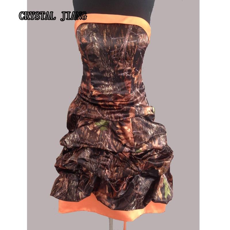 Buy real image mossy oak camo dresses for Mossy oak camo wedding dress