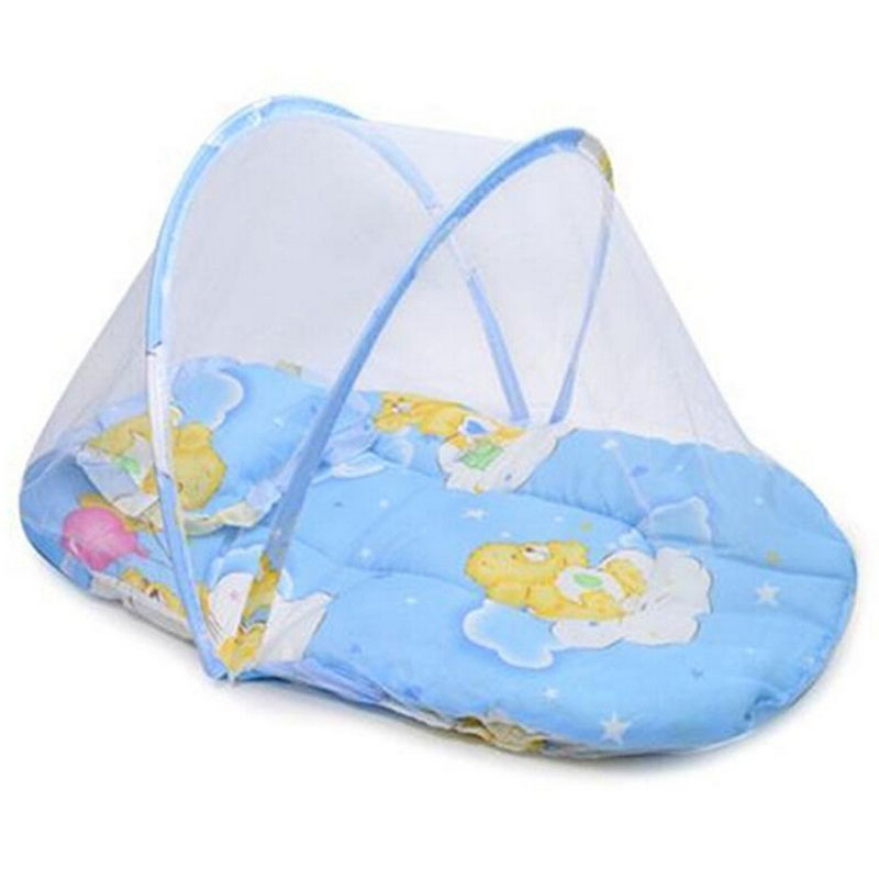 Back To Search Resultsmother & Kids Baby Bedding Buy Cheap Cute Baby Mosquito Net Portable Folding Type Comfortable Infant Pad With Sealed Mosquito Net Baby Bedding With Pillow Always Buy Good
