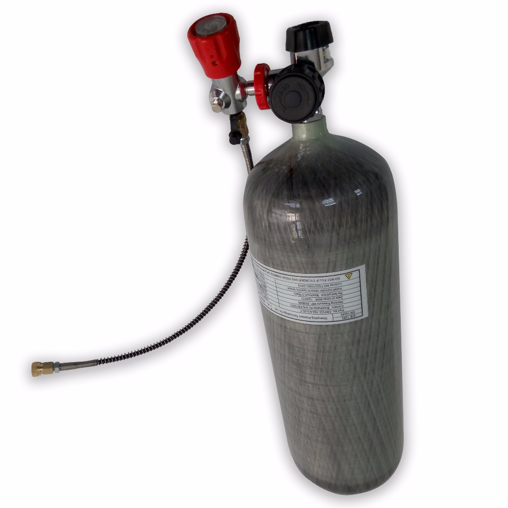 AC1090 9L Air Tank Scuba Pcp Softgun High Pressure Cylinder 4500 Psi Paintball Condor Compressed Air Gun 5 5 Scuba Tank