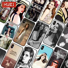 KUZI Sweet Girl Silicone Case for IPhone X XS MAX XR 7 Plus Luxury Phone 6 S 6S 8 Fundas