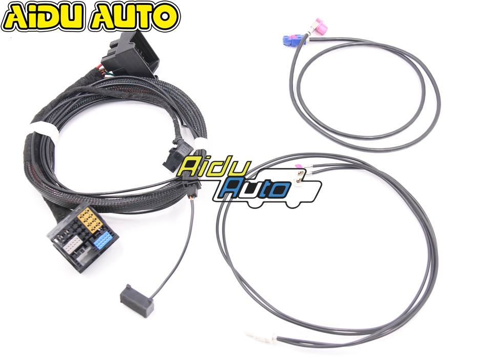 High Quality MIB STD2 ZR NAV Discover Pro Radio update install Adapter Cable Wire harness For VW Golf 7 MK7 Passat B8High Quality MIB STD2 ZR NAV Discover Pro Radio update install Adapter Cable Wire harness For VW Golf 7 MK7 Passat B8