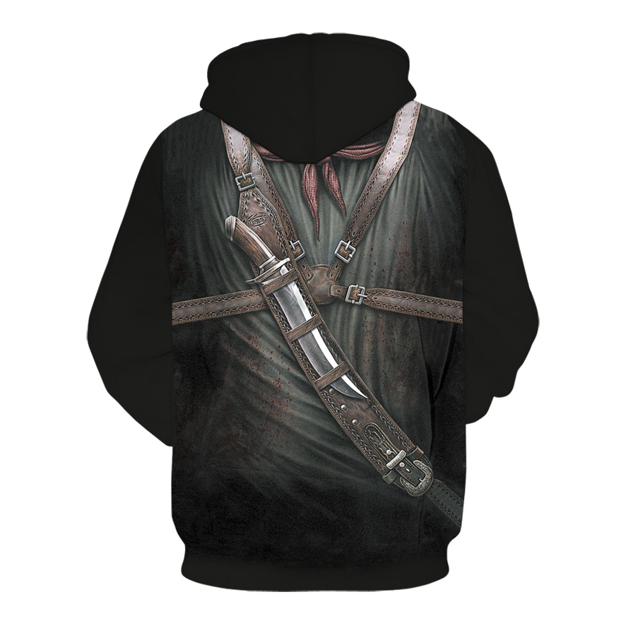 Image 5 - 2019 New Hot Fashion 3D HD Printing Skull Autumn Hoodies  Series Men / Women Autumn And Winter Sweatshirt Hip hop Hoodies S 6XL-in Hoodies & Sweatshirts from Men's Clothing