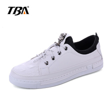 2017 Men White Shoes Autumn Winter Soft Comfortable Casual Shoes Flats Platform Sneakers Leather Shoes Sapato Feminino