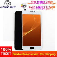 For Samsung Galaxy S5 LCD SM G900 SM G900F G900 LCD Display Touch Screen Digitizer Assembly for Samsung S5 Screen