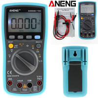 ANENG AN860B + LCD 6000 Counts Digital Multimeter Backlight AC/DC Current Voltage Resistance Frequency Temperature Tester