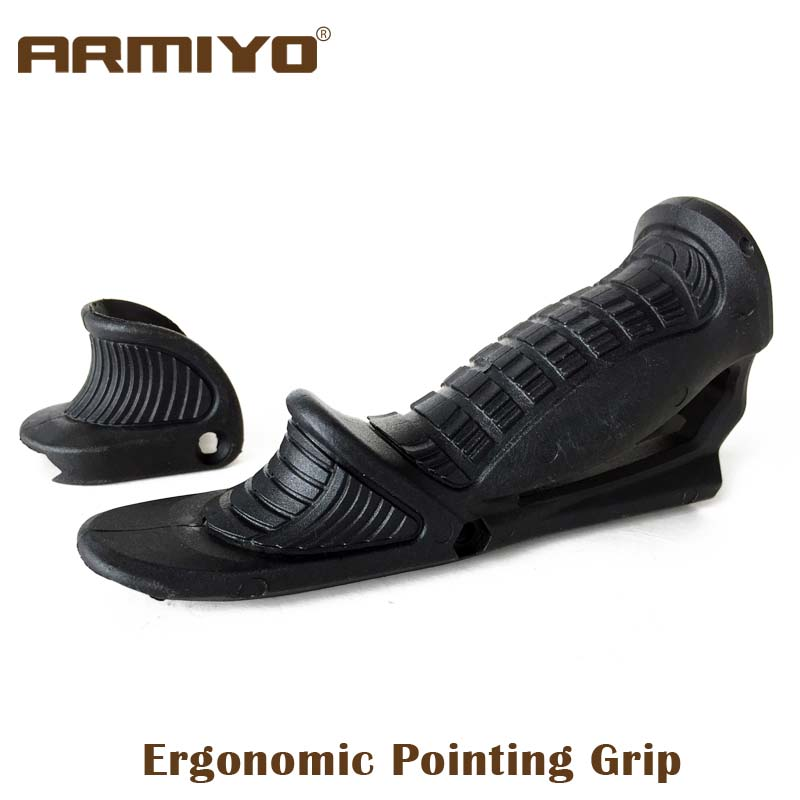 Armiyo Tactical Fabptks Airsoft Gun Fore Angled Pointing Rifle Handle Grip Hunting Handguard Rack Shooting Paintball Accessories рубашка fore axel