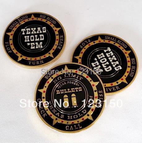 ES-07 Card Protector, Poker Card Guard, New Arrival, No Limit Bullets