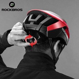 Image 5 - ROCKBROS Mountain Bike Helmet 3 in 1 MTB Road Cycle Helmets Mens Safety Helmet Integrally Molded Pneumatic Cycling Helmets