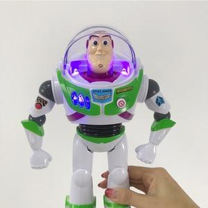 Image 5 - لعبة قصة 3 4 يتحدث الطنانة الخفيفة البلاستيكية عمل الشكل دمية لعبة للأطفال الأطفال هدية