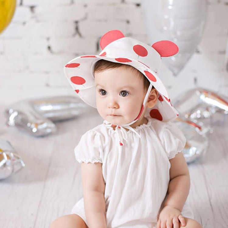 576eb3cb1f07c ... 2019 Brand Designer Baby Infant Hat For Summer Beach Hats Newborn Kids  Cap Photo Props Hats ...