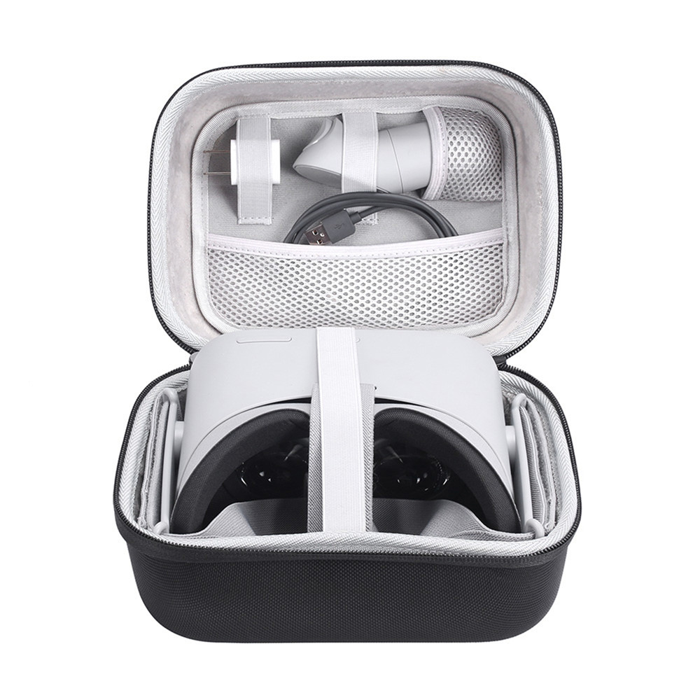 US $15 71 30% OFF|Hard EVA Storage Case Bag for Oculus Go VR Headset  Accessories Protective Travel Carry Box Cover Bags Water resistant Cases-in