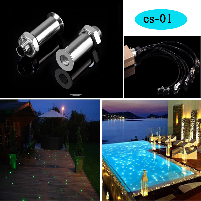 Gratis frakt vanntett Led Sauna Fiber Optic Lights for dekorasjon av badstuerom takbelysning
